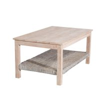 Coffee Table, Available in Washed Texture Finish Only.