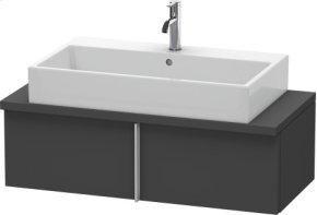 Vero Vanity Unit For Console Compact, Graphite Matt (decor)