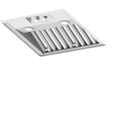 Heritage Integrated Hood Ventilation System, with Variable Speed Control for Internal Blower
