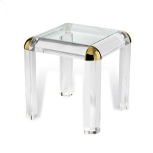 Hollywood Regency Side Table