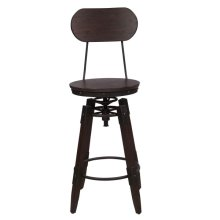 Industrial Swivel Barstool (2pcs/ctn)