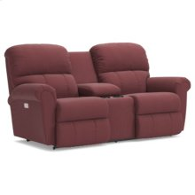 Briggs PowerRecline La-Z-Time® Full Reclining Loveseat w/ Console and Power Headrest