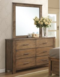 Drawer Dresser - Satin Mindi Finish Product Image