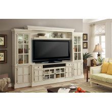 Charlotte 4 piece 72 in. Entertainment Wall