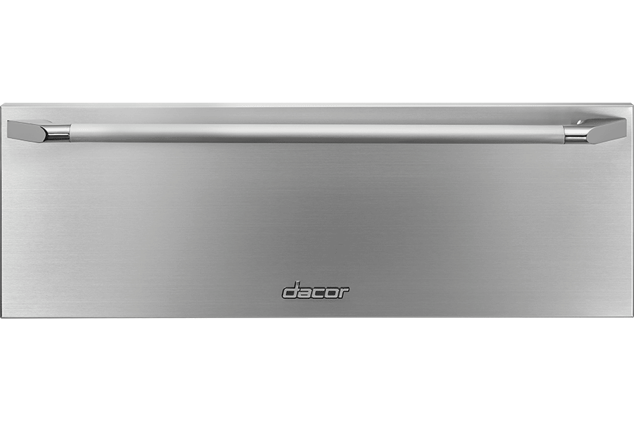 "Heritage 30"" Epicure Warming Drawer, Silver Stainless Steel
