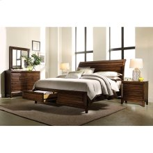 King/Cal King Storage Footboard