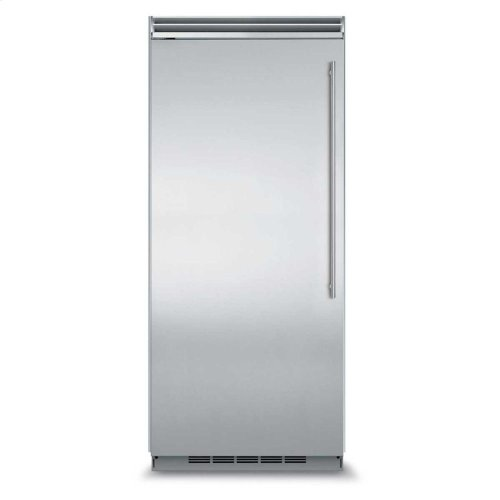 "Professional Built-In 36"" All Refrigerator - Panel-Ready Solid Overlay Door - Left Hinge*"
