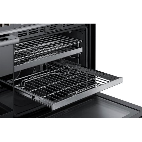 """48"""" Pro Dual-Fuel Steam Range, Silver Stainless Steel, Natural Gas/High Altitude"""