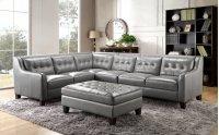 6640 Malibu Ottoman 177027 Grey Product Image