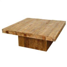 Maxim Square Coffee Table, Natural