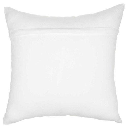 """Trendy, Hip, New-age Jb014 White 18"""" X 18"""" Throw Pillows"""