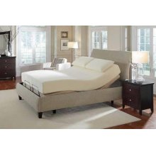 Premier Casual Beige California King Adjustable Bed