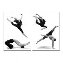 Modrest Dancers 2-Panel Photo on Canvas