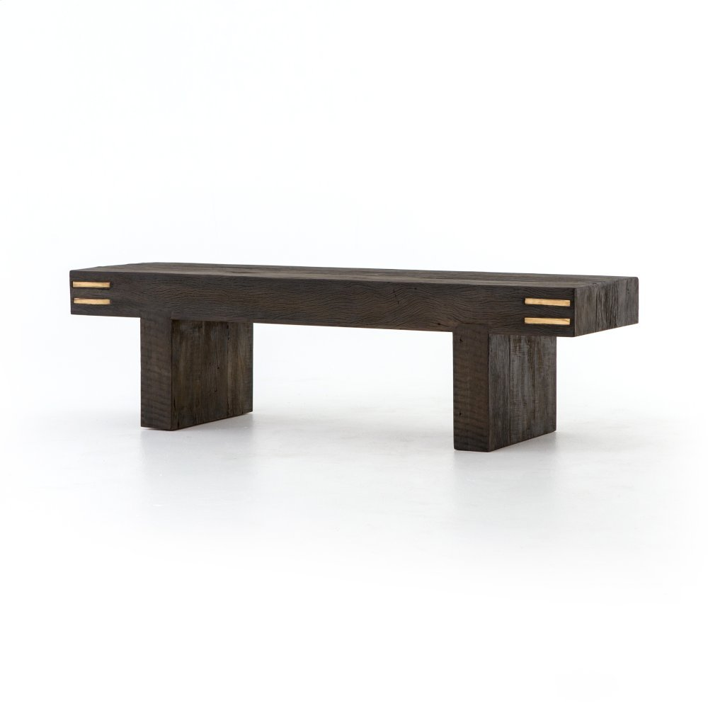 Black Peroba Finish Nolan Accent Bench