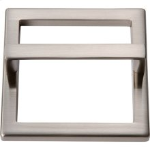 Tableau Square Base and Top 3 Inch - Brushed Nickel