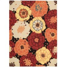Home & Garden Rs021 Blk Rectangle Rug 5'3'' X 7'5''