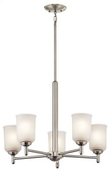 Shailene 5 Light Chandelier Brushed Nickel