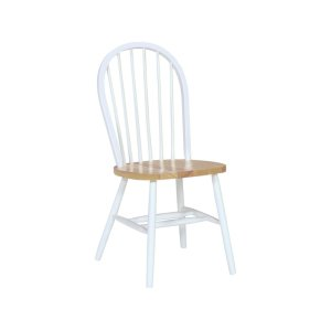 JOHN THOMAS FURNITUREWindsor Chair in White & Natural