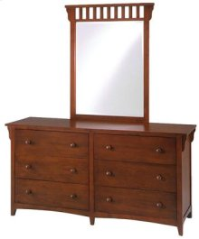 Canyon Lake Dresser & Mirror