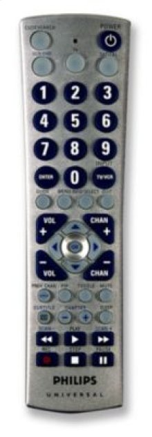 Philips Remote Control US2-PM335 Universal Big button