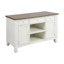 Nantucket Cabinet - Brown Grey Veneer Top