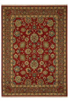 Sultana Red Rectangle 5ft 9in x 9ft