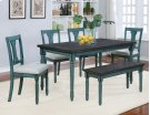 Willow 6 Piece Dining Set Product Image