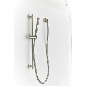 Satin Nickel River (Series 17) Slide Bar with Hand Shower