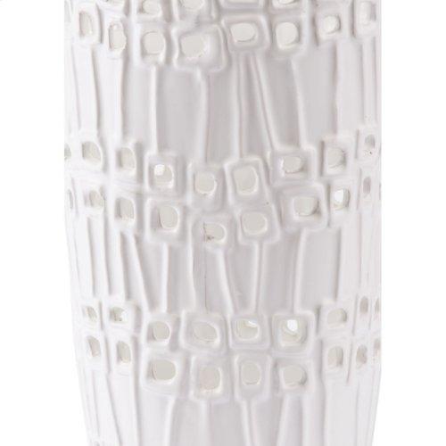 Cal Tall Vase White