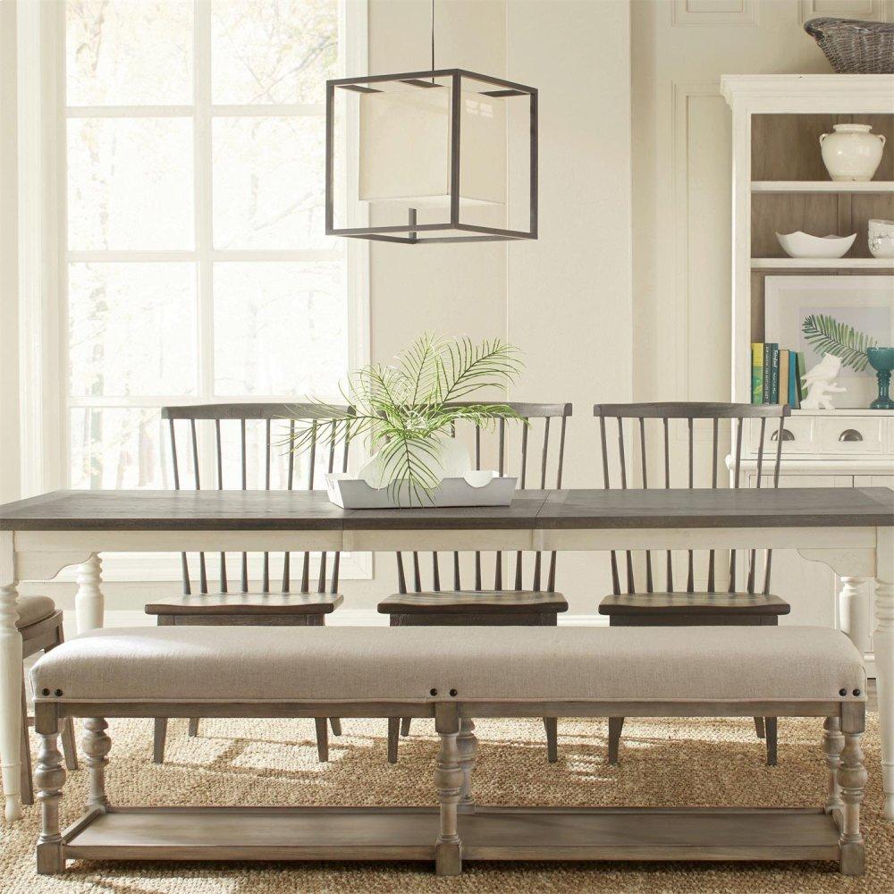 Pleasant 44449Riverside Juniper 72 Inch Upholstered Dining Bench Ncnpc Chair Design For Home Ncnpcorg