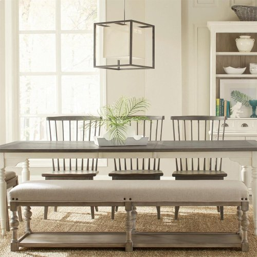 Juniper - 72-inch Upholstered Dining Bench - Natural Finish