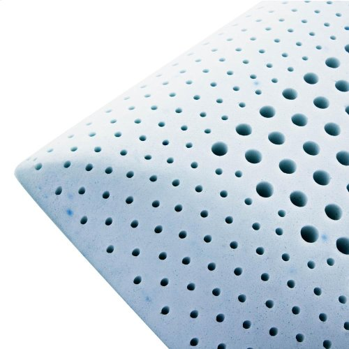 Zoned Gel Talalay Latex - King Low Loft Firm