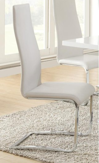 Crisp Dining Chair White