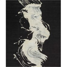 Christopher Guy Wool & Silk Collection Cgs22 Noir Square Rug 8' X 8'