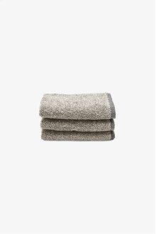 Tasha Wash Towel Black/Linen STYLE: THWT03