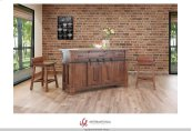 3 Drawer Kitchen Island w/2 sliding doors, 2 Mesh doors on each side