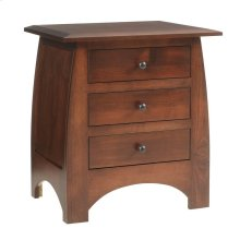 Bordeaux 3 Drawer Nightstand