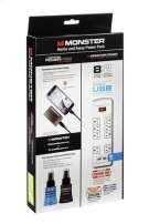 Monster Power 800 USB PowerCard Turbo ScreenClean & CleanTouch Product Image