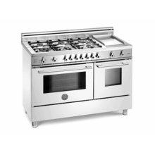 White 48 Six-Burner Electric Ovens, Self-Clean