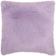 """Fur Fl101 Lavender 1'10"""" X 1'10"""" Throw Pillows"""