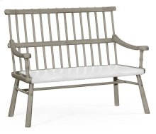 Grey Oak Country Bench