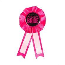 """Team Bride"" Badge"