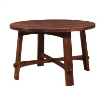 Round Dining Table with Curved Apron