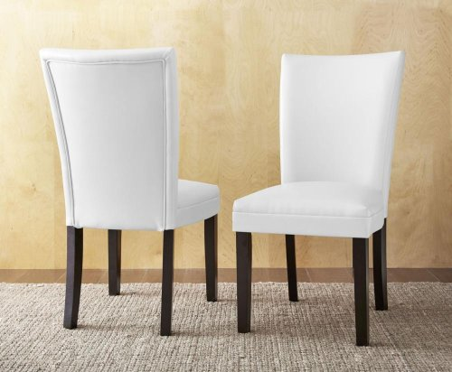 "Matinee Bonded Side Chair, Gray 19""x26""x39"" [1/2"" Memory Foam]"