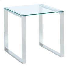 Zevon Accent Table in Silver