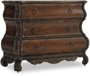Three-Drawer Shaped Chest Product Image