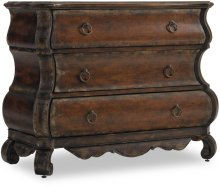 Three-Drawer Shaped Chest