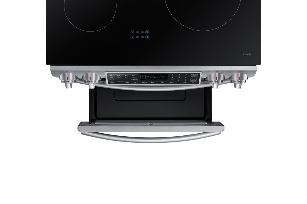 Ft. Slide In Induction Range With Virtual Flame Technology In