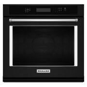 "30"" Single Wall Oven with Even-Heat True Convection - Black Product Image"