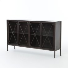 Allegra Sideboard-waxed Black